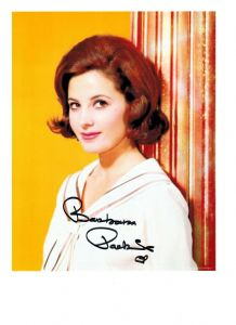 Barbara Parkins, genuine signed autograph, 10 x 8 inch  06565